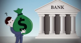 the bank and the client