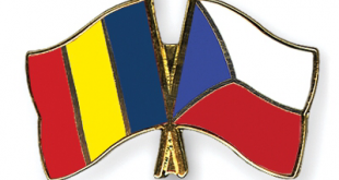 romanian czech rep flag