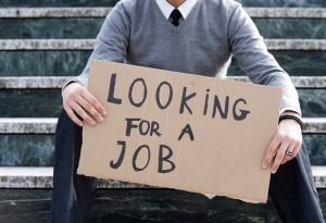 look for a job
