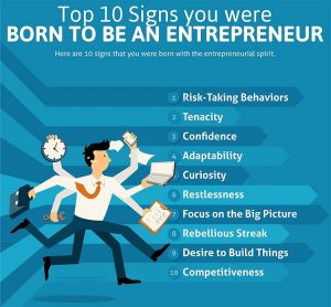 born to be entrepreneur